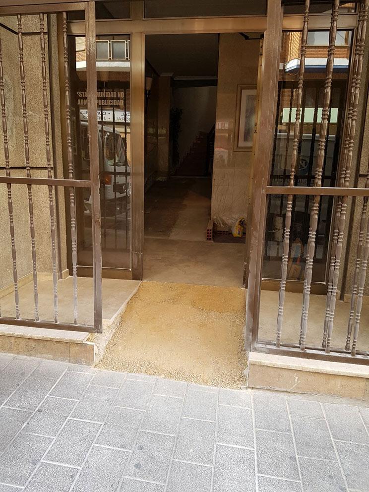 instalación de rampas de acceso | Proyecons
