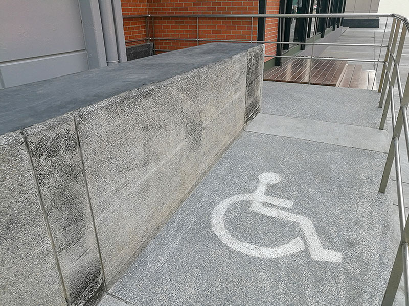 rampas de acceso a la vivienda