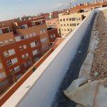 impermeabilización de los petos de tejado en Albacete