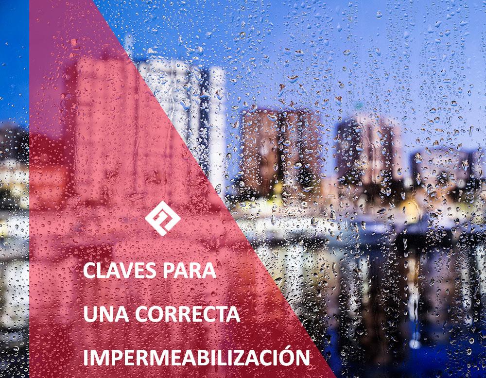 Claves para una correcta impermeabilización en Albacete