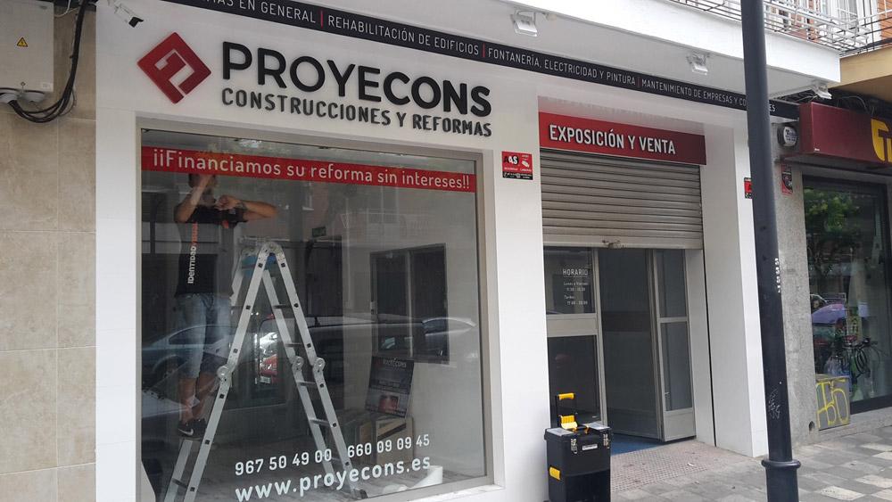 Reforma integral de local sede Proyecons en Albacete