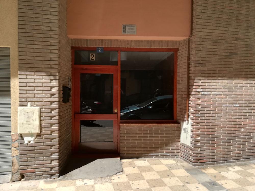 Reforma de portal en Calle Joaquín Quijada, Albacete